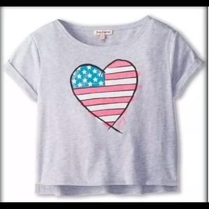 AUTHENTIC JUICY COUTURE GIRLS TEE SHIRT TOP Sz. 10